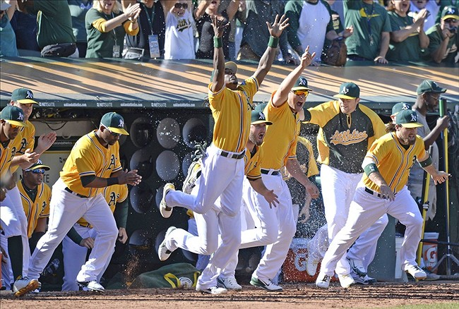 A's Repeat as AL West Champions