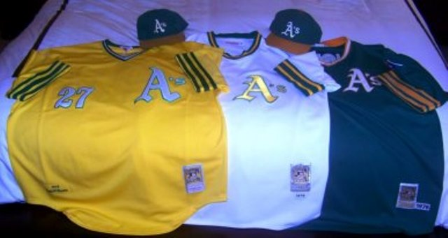 pretty nice 5d85d 8e318 Confessions of an A's Jersey Junkie